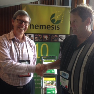 Evan and Managing Director of PCT David at the AEPMA conference